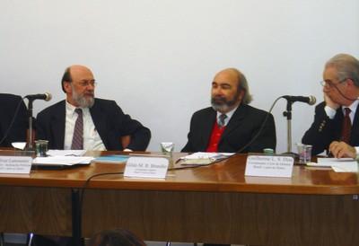 Bolívar Lamonier, Gildo Marçal Brandão e Guilherme Leite da Silva Dias