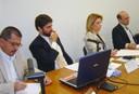 Antonio Carlos Robert de Moraes, Ricardo Sennes, Nina Ranieri e Sérgio Fausto