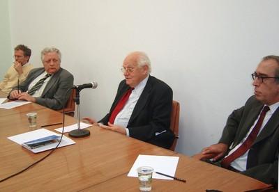 Ricardo Abramovay, João Steiner, Ignacy Sachs e Luiz Gylvan Meira Filho