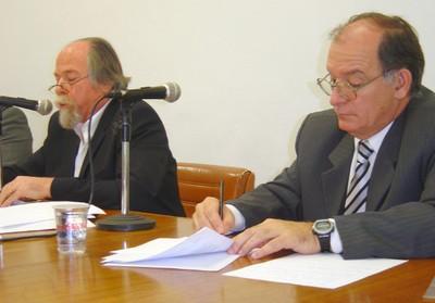 Jacques Marcovitch e Marcos Macari