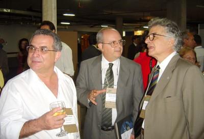 Eduardo Assad, Pedro Leite da Silva Dias e Ennio Candotti