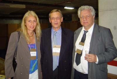 Patrícia Anhuf , Dieter Anhuf e João Steiner