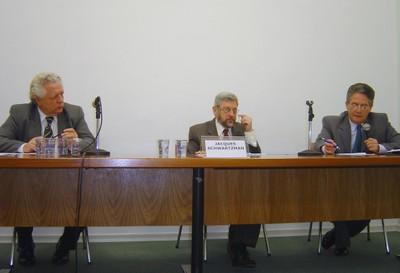 João Steiner, Jacques Schwartzman e Helio Nogueira da Cruz