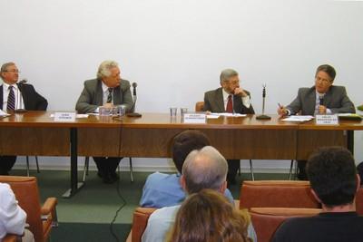 Carlos Antonio Luque, João Steiner, Jacques Schwartzman e Helio Nogueira da Cruz