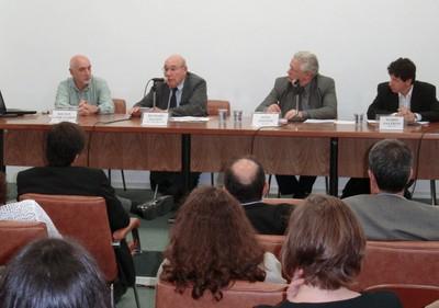 Milton Campanário, Richard Nelson, João Steiner e Mário Sérgio Salerno
