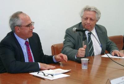 Ernesto Samper e João Steiner