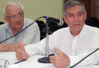 Marco Antonio Coelho e Dom Luiz Cappio