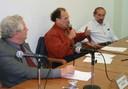 Roberto Vermulm, João Steiner, Glauco Arbix e Júlio Sérgio Gomes de Almeida