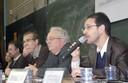 Viviana Bosi, Antônio Carlos Secchin, , Murilo Marcondes de Moura, Alcides Villaça e João Roberto Faria