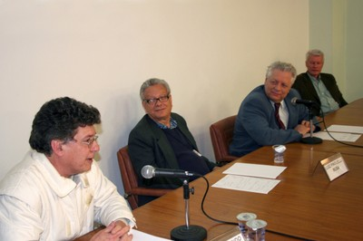 José Raimundo Novaes Chiappin, Luiz Pinguelli Rosa, João Steiner e Wolfgang Leo Maar