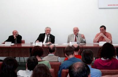 Carlos Augusto Monteiro, João Steiner, Ignacy Sachs e Hervé Théry