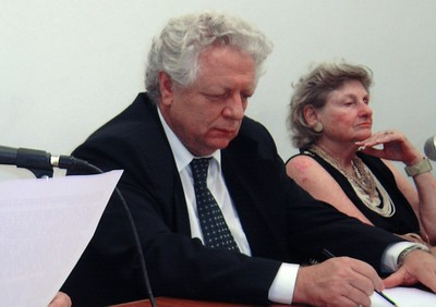 João Steiner e Bertha Becker
