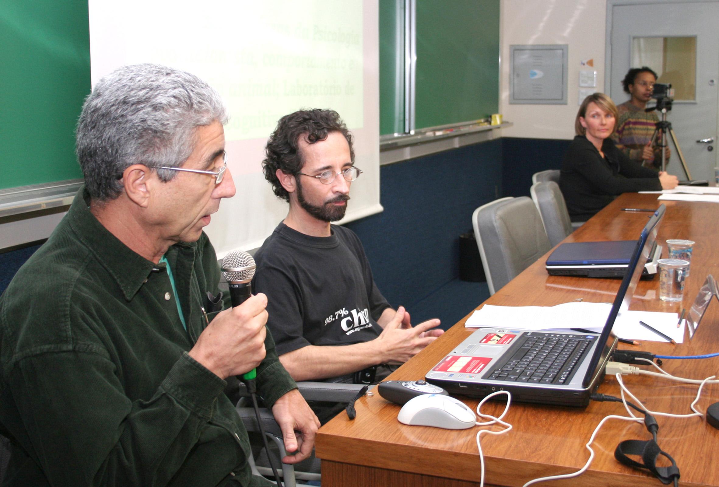 José Eli da Veiga, Eduardo Ottoni e Eliana Sebeoka Rapcham
