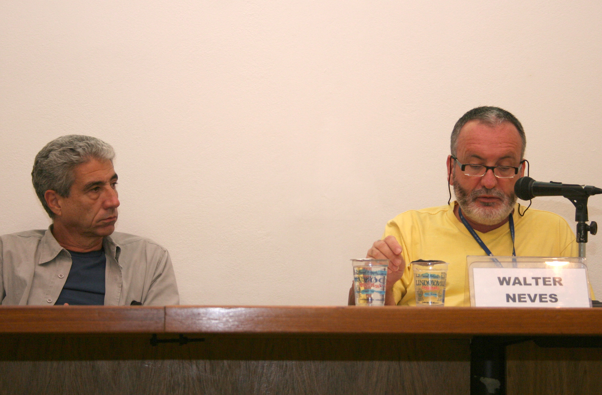 José Eli da Veiga e Walter Neves