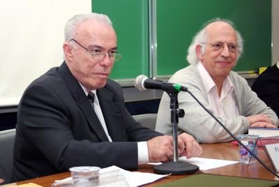 Flávio Fava de Moraes e Imre Simon