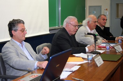 Hélio Nogueira da Cruz, Flávio Fava de Moraes, Imre Simon e José Fernando Perez