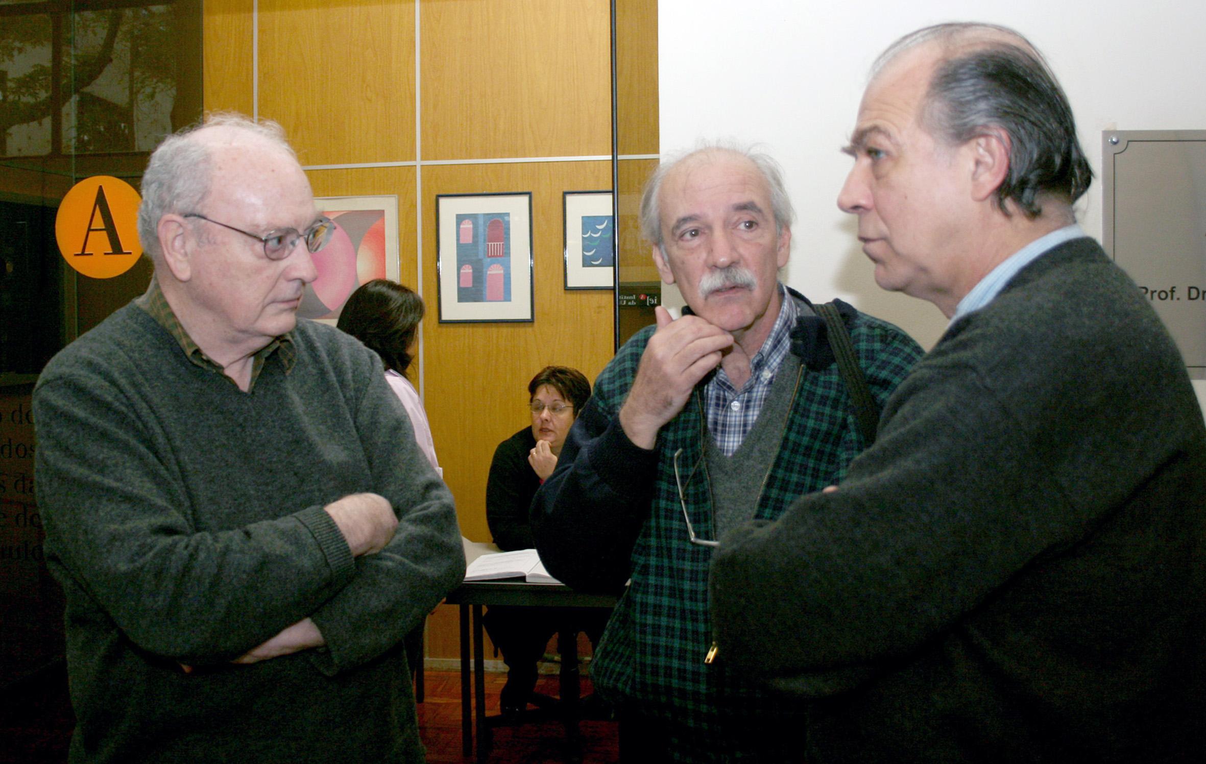 Hugh Lacey, Marcos Barbosa de Oliveira e Pablo Mariconda