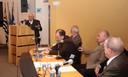 José Goldemberg, Carlos Guilherme Mota, Glauco Arbix, Gabriel Cohn e Carlos Vogt