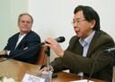 Paulo Abrahamson e Shozo Motoyama
