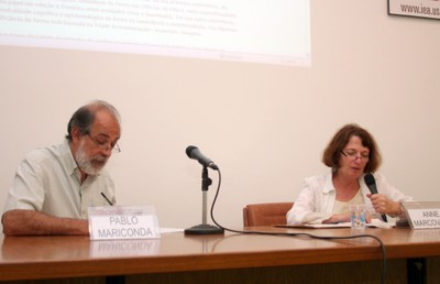 Pablo Mariconda e Anne Marcovitch