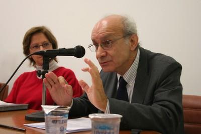 Eliane Cantanhêde e Fábio Wanderley Reis