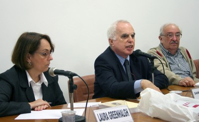 Laura Greenhalgh, Samuel Pinheiro Guimarães e Marco Antonio Coelho
