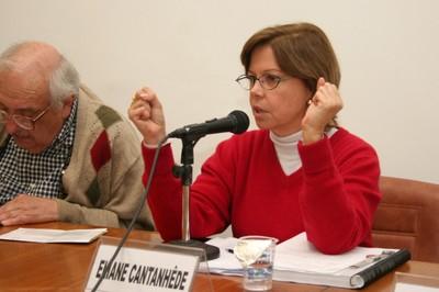 Marco Antonio Coelho e Eliane Cantanhêde