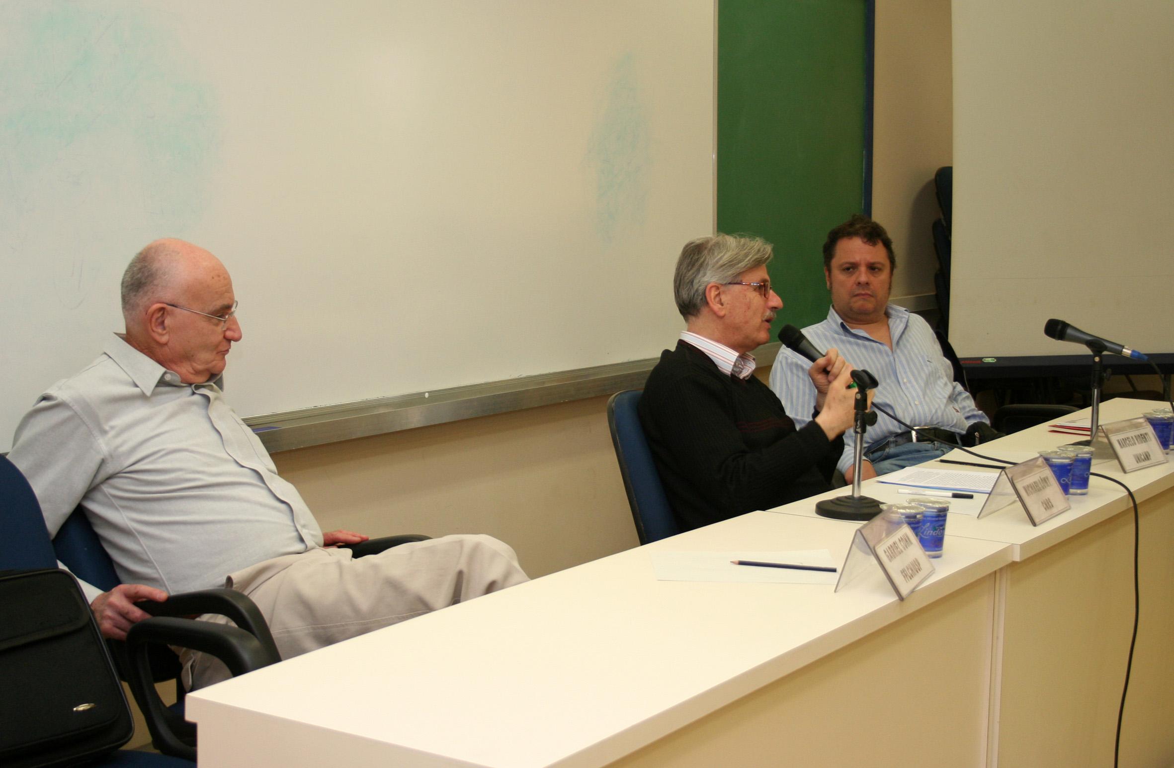 Gabriel Cohn, Michael Lövy e Marcelo Ridenti