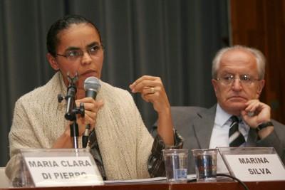 Marina Silva e César Ades