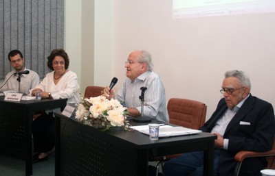 Etienne Cartolano Jr., Vera Lúcia Imperatriz Fonseca, César Ades e Paulo Nogueira Neto