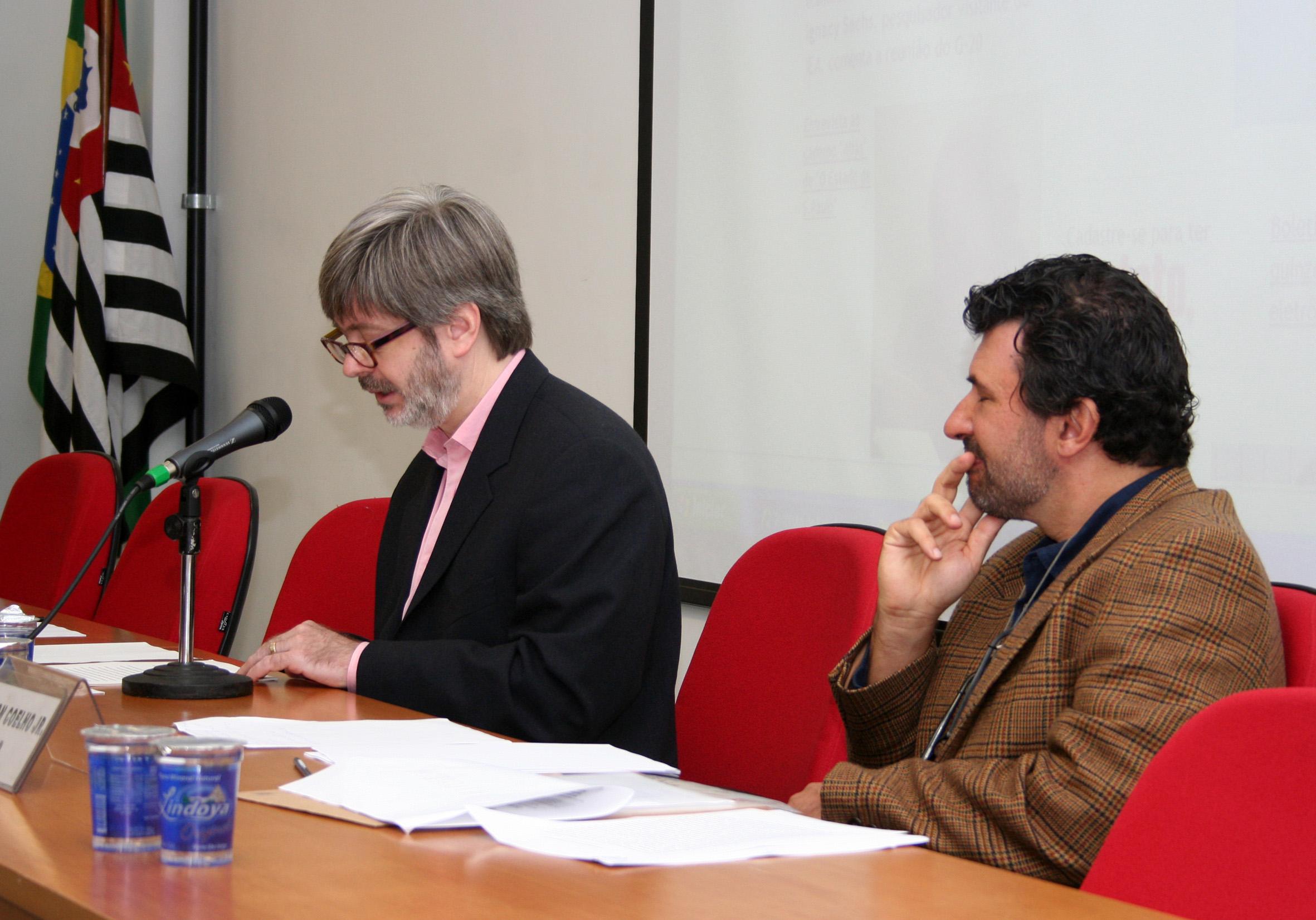 Bruce Reys e Nelson Ernesto Coelho Jr