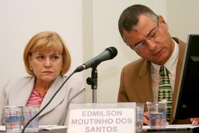 Maria D'Assunção Costa e Edmilson Moutinho dos Santos