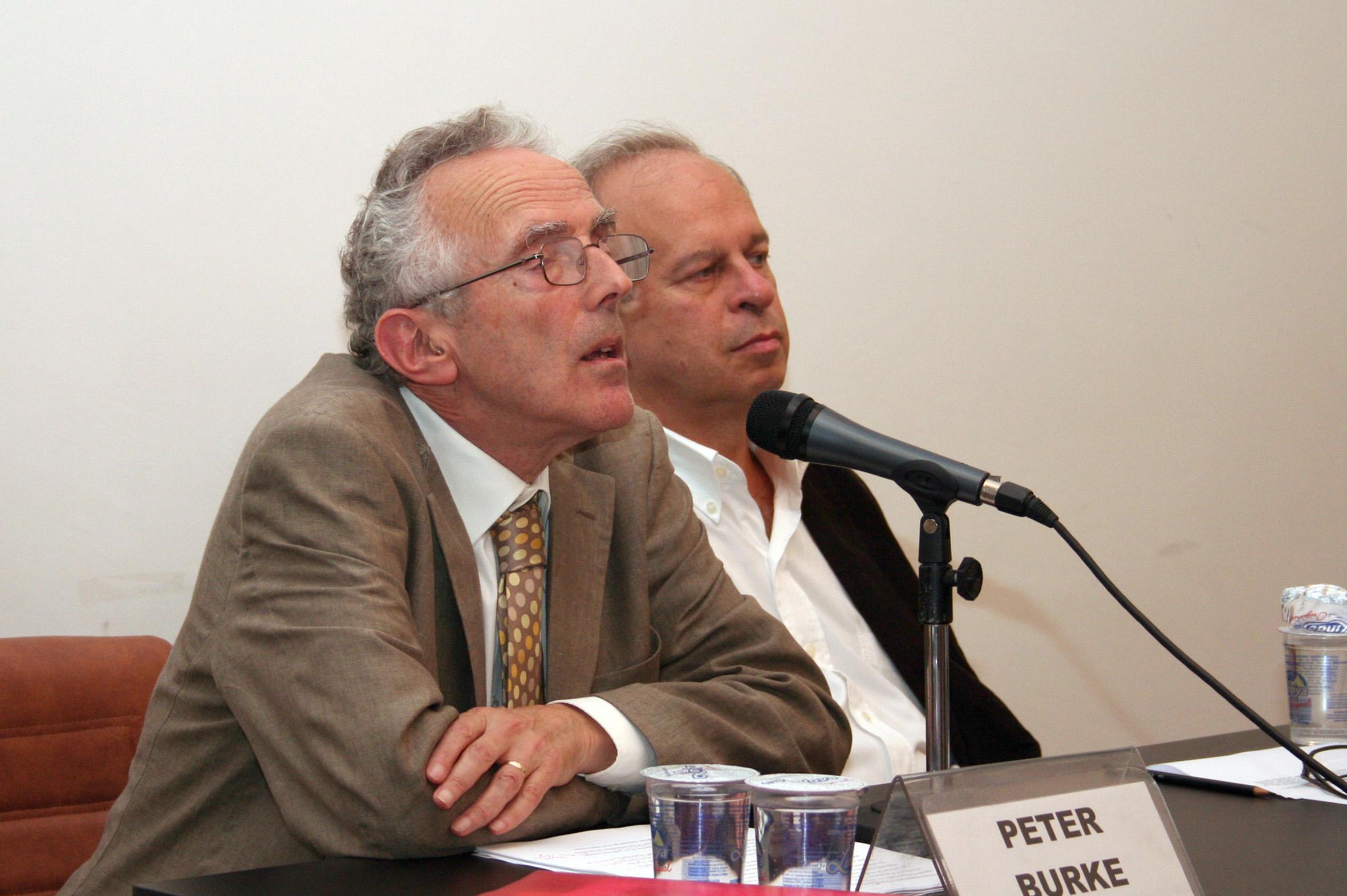 Peter Burke e Renato Janine Ribeiro