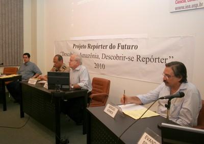 Pedro Ortiz, Alan Sampaio Santos, César Ades e Sérgio Gomes