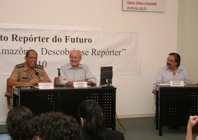 Alan Sampaio Santos, César Ades e Sérgio Gomes