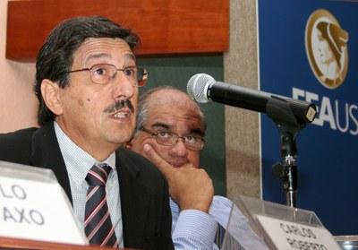 Carlos Roberto Azzoni e José Marengo
