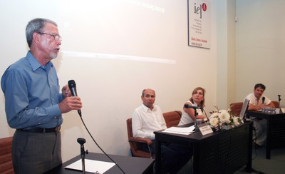 Luís Bartolomé Lecha Estela, Wagner Costa Ribeiro, Helena Ribeiro e Fábio Luiz Teixeira Gonçalves