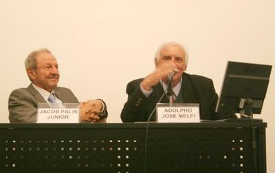 Jacob Palis Jr e Adolphp José Melfi