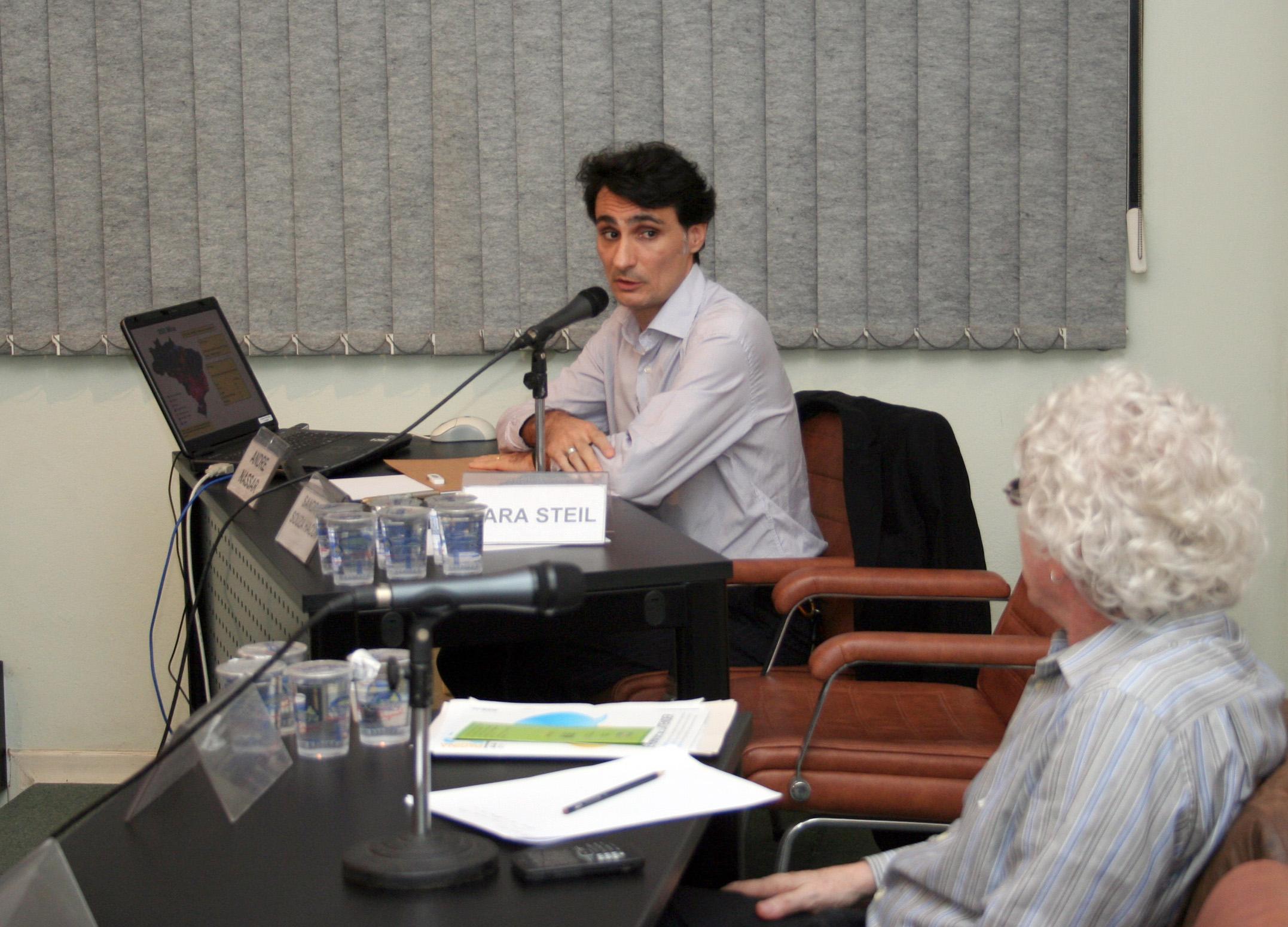 André Nassar e Pedro Jacobi