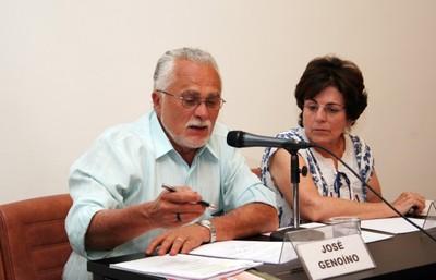 José Genuíno e Maria Cecília Spina Forjaz