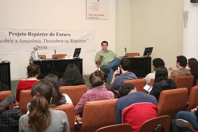Pedro Ortiz faz sua apresentação