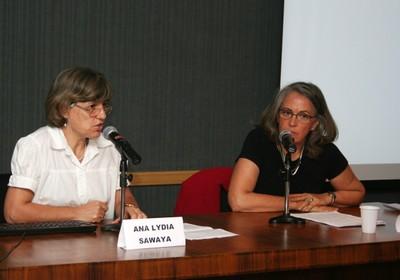 Ana Lydia Sawaya e Anna Peliano