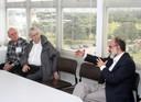 Eliezer Rabinovici, Peter Goddard e Guilherme Ary Plonski