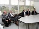 Eliezer Rabinovici, Peter Goddard, Guilherme Ary Plonski e Antonio Mauro Saraiva
