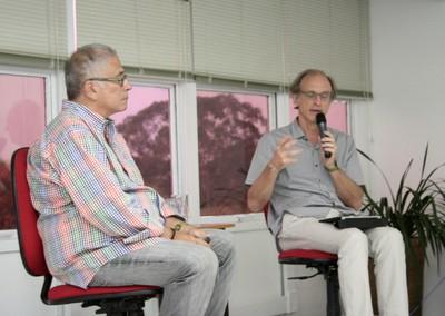 Rafael Pereira e Martin Grossmann