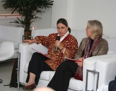 Ana Lydia Sawaya e Laura Patrícia Zuntini de Izarra
