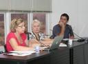 Maria da Penha Costa Vasconcelos, Helena Leal David e Nicolas Lechopier