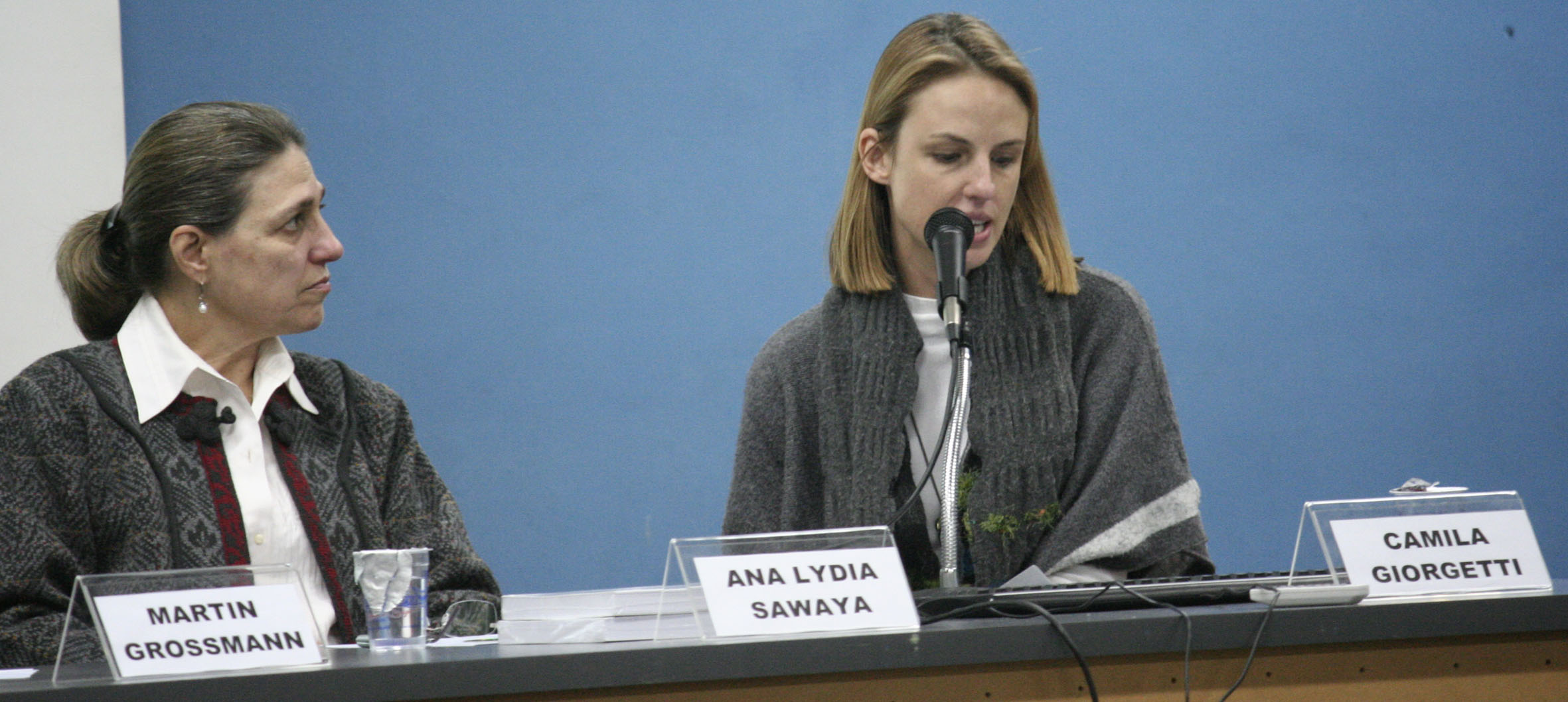 Ana Lydia Sawaya e Camila Giorgetti