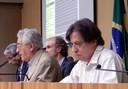 José Eli da Veiga, Martin Grossmann, Alfredo Bosi e Célio Bermann