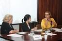 Eva Blay, Aline Yamamoto e Marcela Barroso